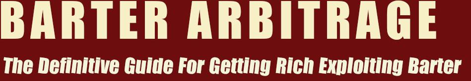 Barter Arbitrage